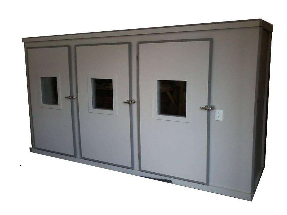 Cabine 3 portas