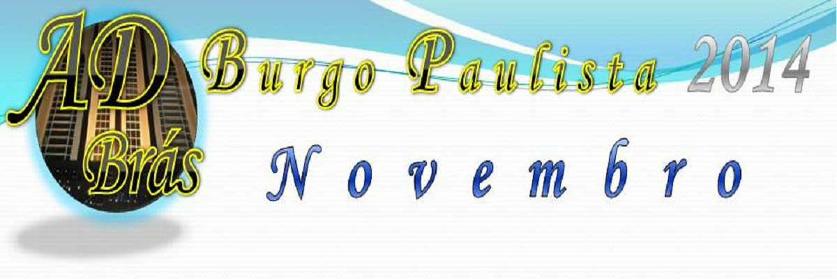 Agenda de Novembro - 2014