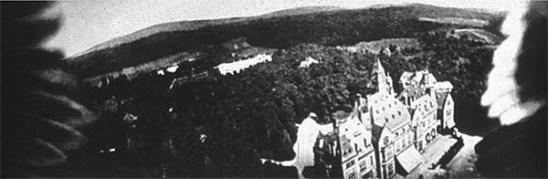 Registro de Schlosshotel Kronberg (dá até para ver as asas da pomba!)
