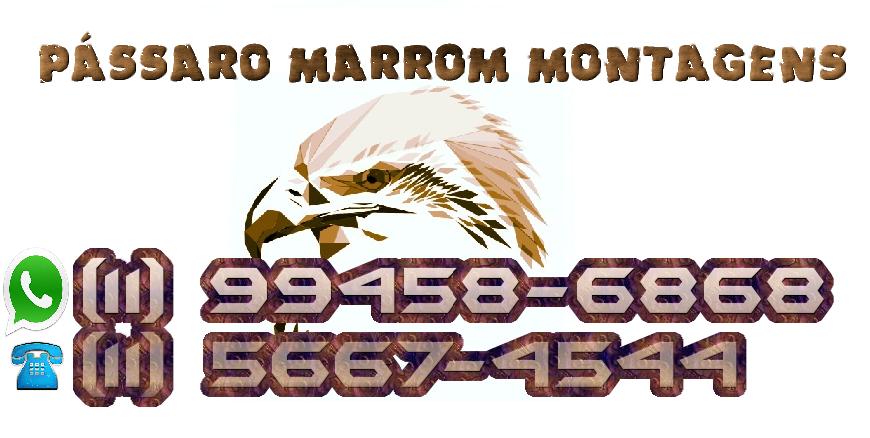 Montador de Móveis - Pássaro Marrom