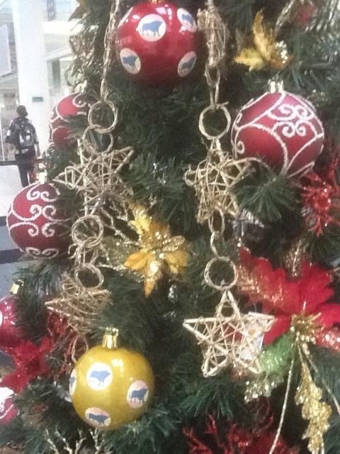 Ambiente de Natal Ponteio Lar Shopping