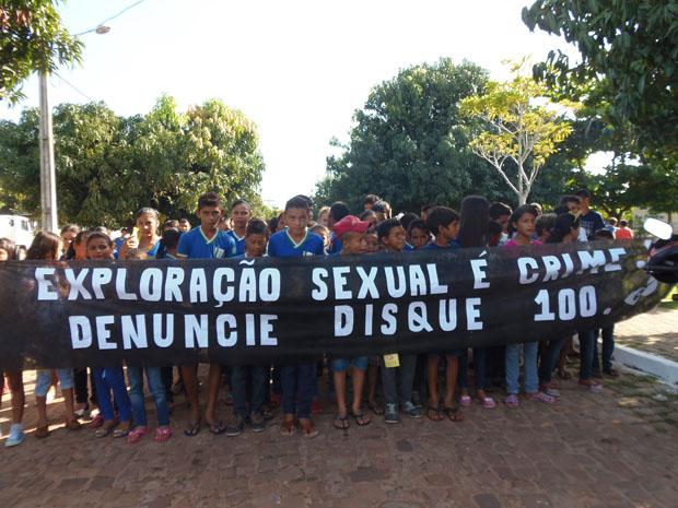 Concelho Tutelar de Pau D'arco, realiza campanha de combate ao abuso e exploração de crianças e adolescentes