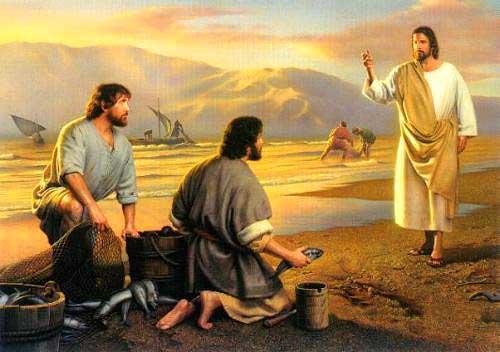 JESUS CONVIDA OS PESCADORES A PESCAR!