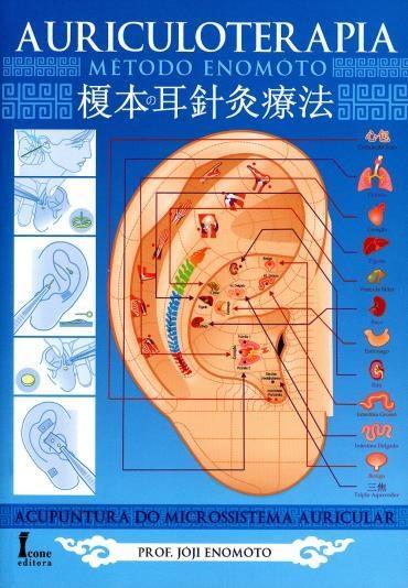 livro auriculoterapia jóji Enomóto acupuntura