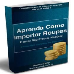 Livro Aprenda Como Importar Roupas