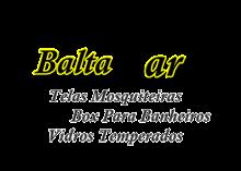 Logo Baltazar Vidros Temperados em Ribeirão Preto