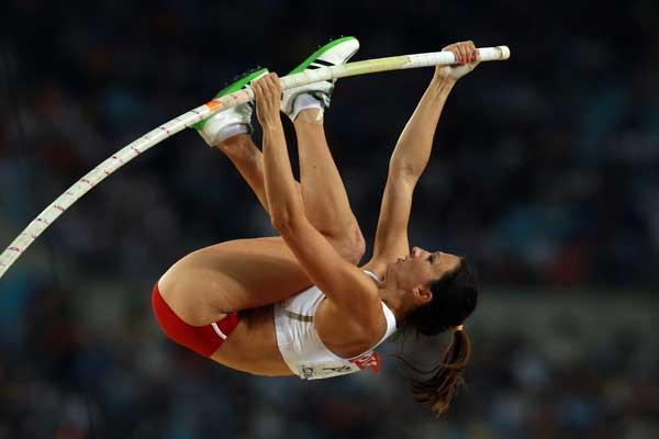 A sua única medalha de ouro em termos internacionais, foi nos Campeonatos Europeus de Sub-23 em 2001 em Amesterdão, quando foi campeã