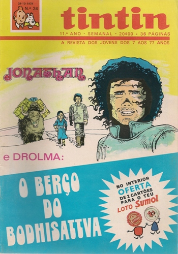 JONATHAN - 4 . BERÇO DO BODHISATTVA (O)