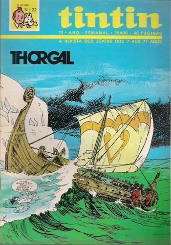 THORGAL - 2 . ILHA DOS MARES GELADOS (A)