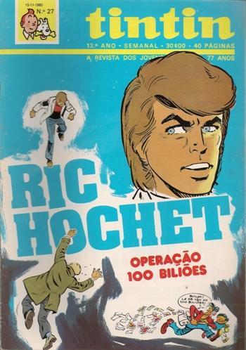 RIC HOCHET - 29 . OPERAÇÃO 100 BILIÕES