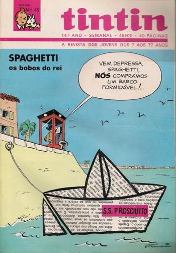 SPAGHETTI - 18 . BOBOS DO REI (OS)