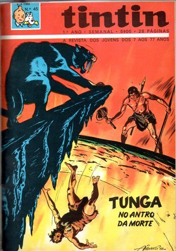 TUNGA - 4 . NO ANTRO DA MORTE