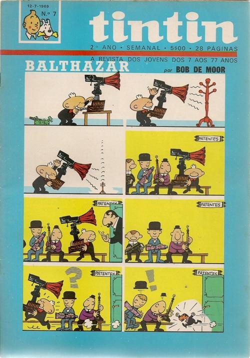 BALTHAZAR - TINTIN . N.º 207
