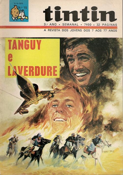 TANGUY E LAVERDURE  - 13 . ALFERES BANG-BANG (O)