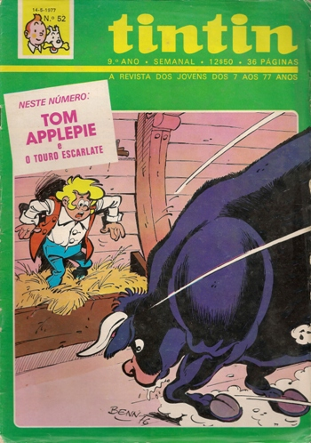 TOM APPLEPIE - 1 . TOURO ESCARLATE (O)