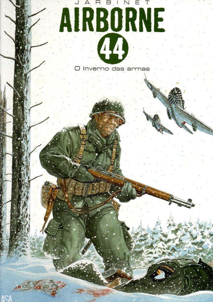 Capa  AIRBORNE 44 - 6 . INVERNO DE ARMAS (O)