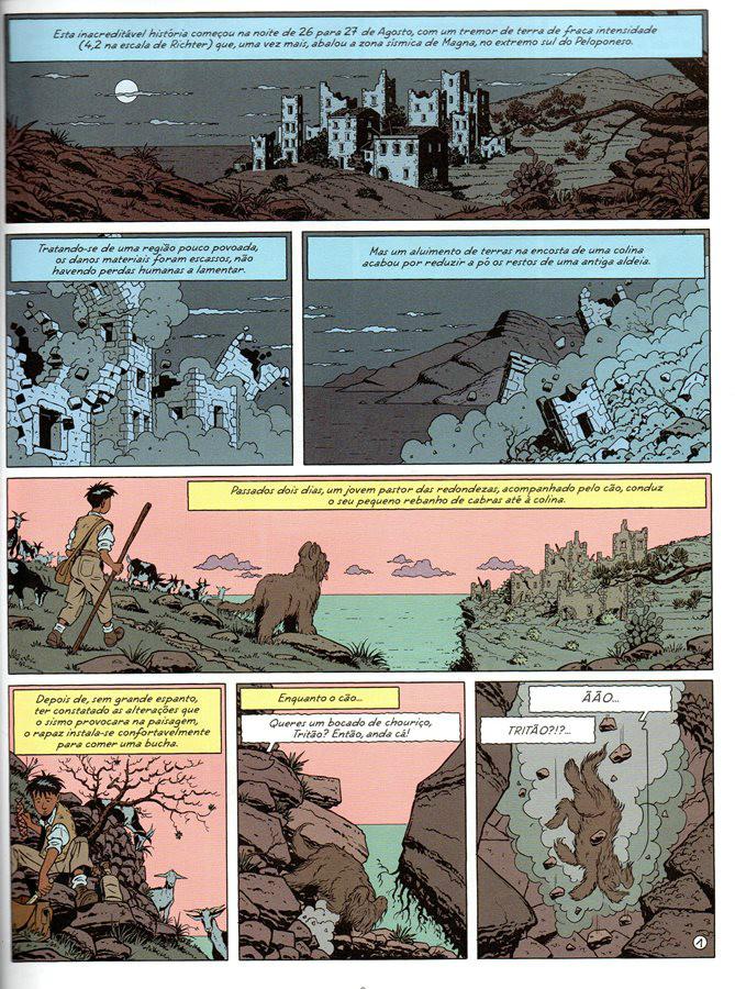 Prancha de: BLAKE ET MORTIMER - 19 . MALDIÇÃO DOS TRINTA