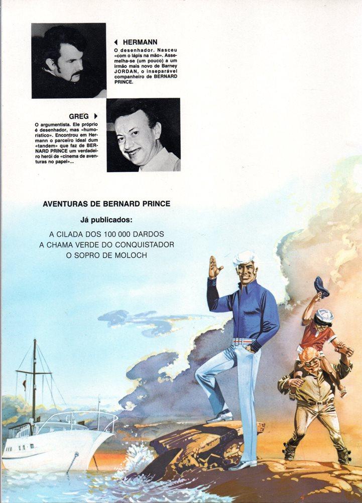 Prancha de: BERNARD PRINCE - 10 . SOPRO DE MOLOCH (O)