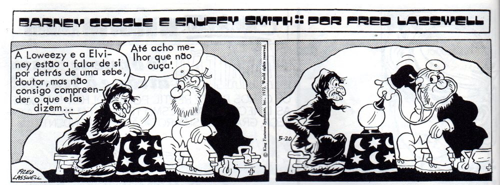 BARNEY GOOGLE & SNUFFY SMITH