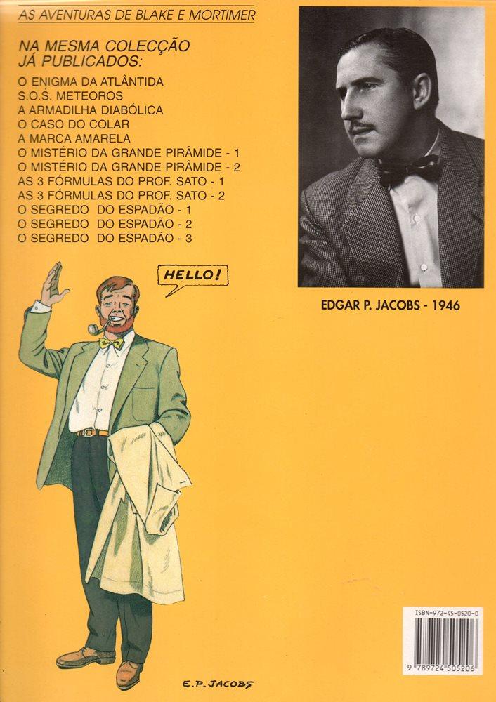 Prancha de: BLAKE ET MORTIMER - 4 . MISTÉRIO DA GRANDE PIRÂMIDE (O)- V. 1