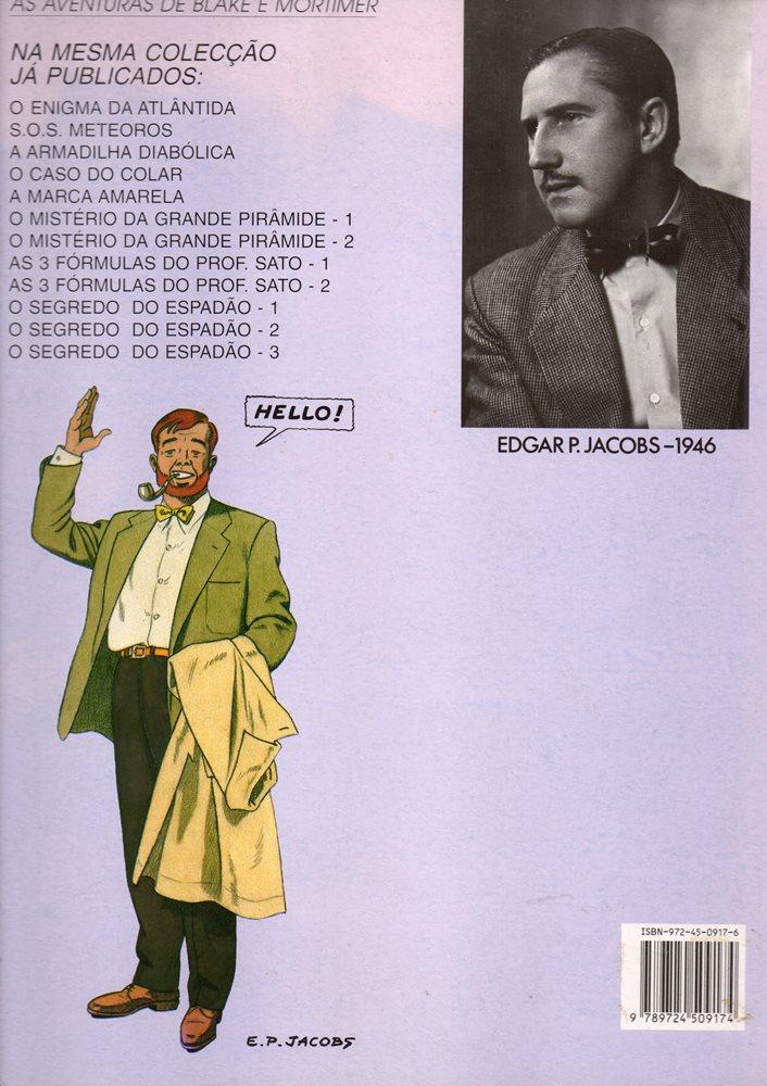 Prancha de: BLAKE ET MORTIMER - 11 . 3 FÓRMULAS DO PROFESSOR SATO - V. 1 (AS)