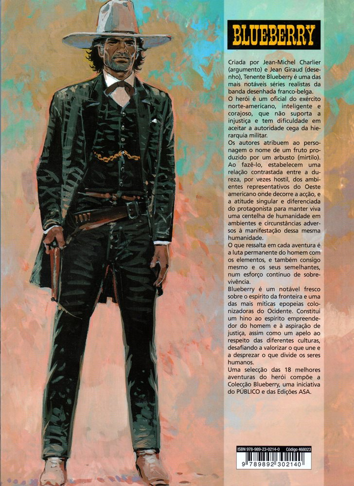 Prancha de: BLUEBERRY - 7 . CAVALO DE FERRO (O)