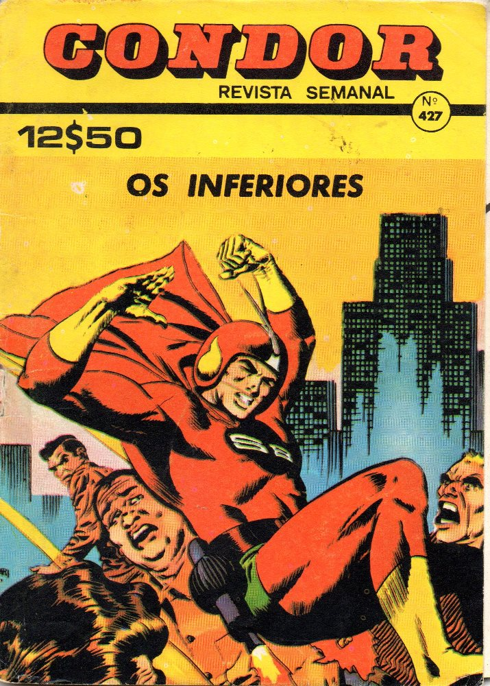 Capa de: SUPER BOY - 12 . INFERIORES (OS)