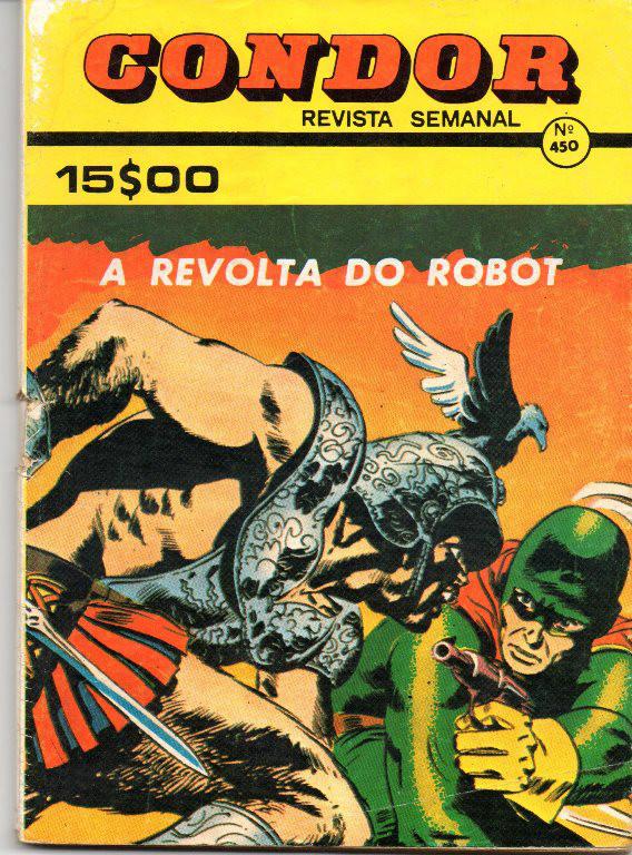 TENAX - 11 . REVOLTA DO ROBOT (A)