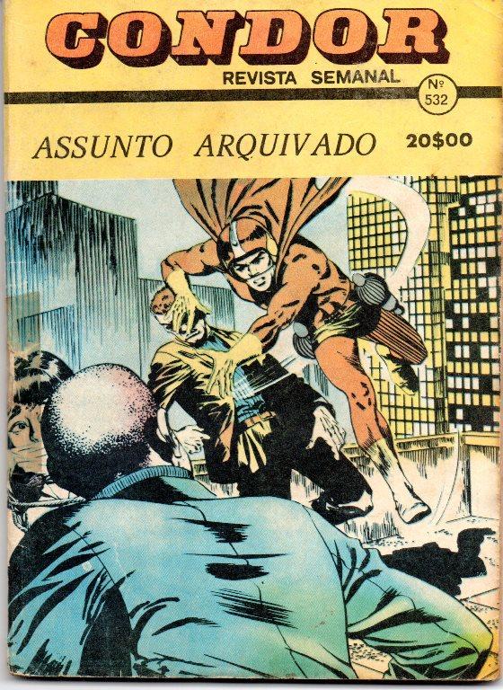 SUPER BOY - 22 . ASSUNTO ARQUIVADO