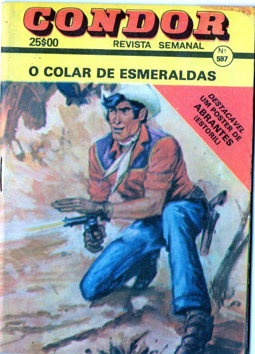 TEX TONE - 11 . COLAR DE ESMERALDAS (O)