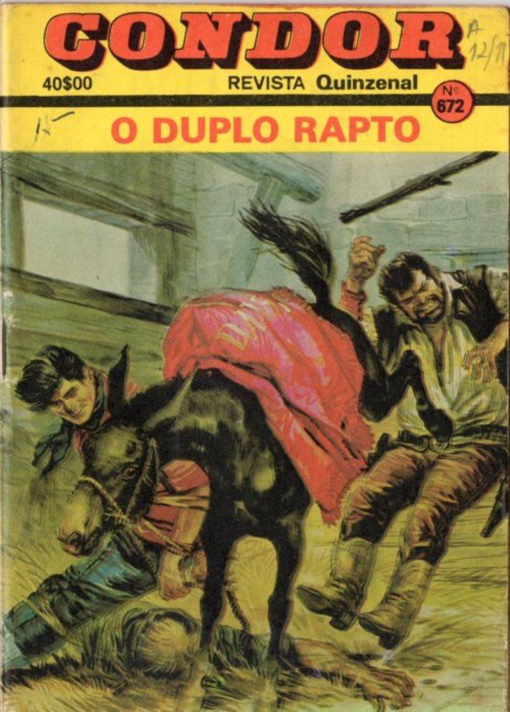 TEX TONE - 15 . DUPLO RAPTO (O)