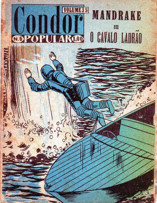MANDRAKE - 11 . CAVALO LADRÃO (O)