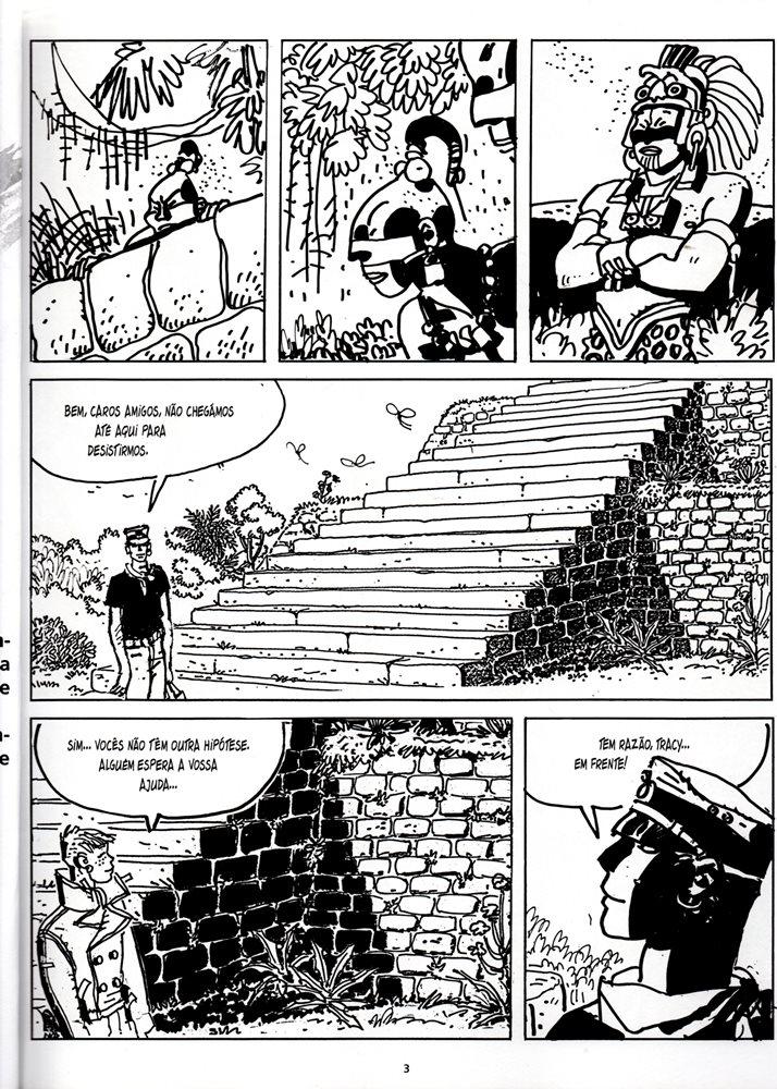 Prancha de: CORTO MALTESE - 29 . CASA DOURADA DE SAMARCANDA Vol.2 (A)