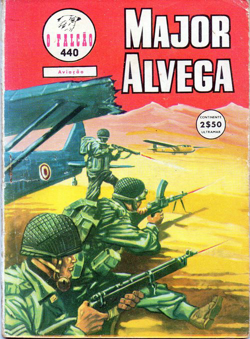 MAJOR ALVEGA - 9 . PILOTO DE GUERRA