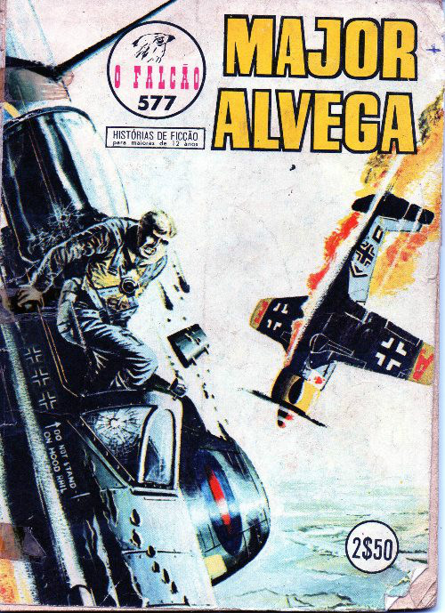 MAJOR ALVEGA - 25 . RIVAIS (OS)