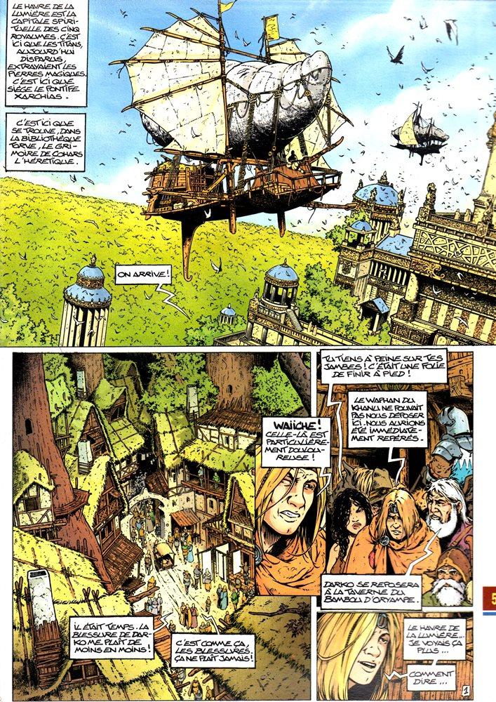 Prancha de: FORETS DE OPALE (LES) - 2 . ENVERS DU GRIMOIRE (L')