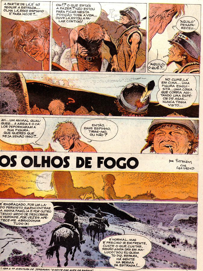 Prancha de: JEREMIAH - 4 . OLHOS DE FOGO (OS)