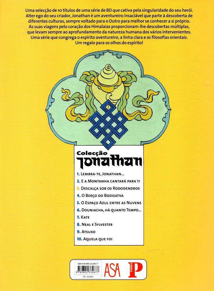 Prancha de: JONATHAN - 3 . PÉS DESCALÇOS SOB OS REDODENDROS