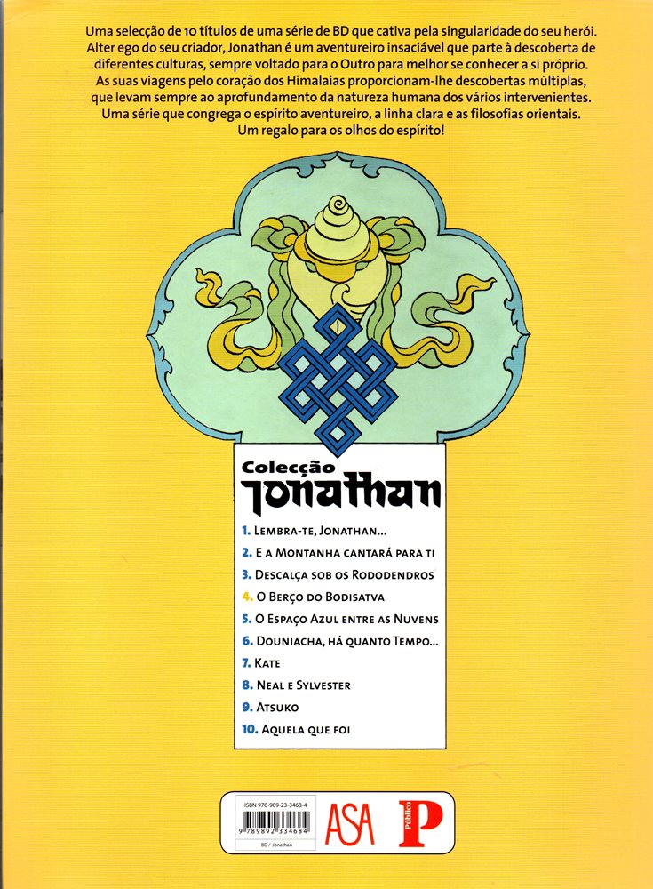 Prancha de: JONATHAN - 4 . BERÇO DO BODHISATTVA (O)