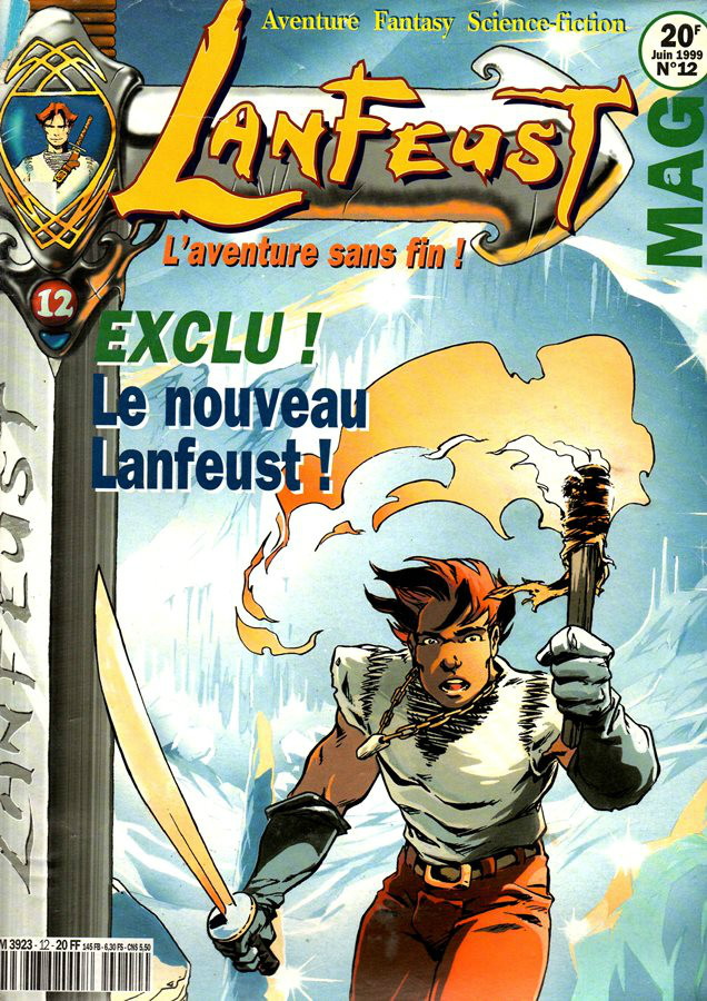 LANFEUST DE TROY - 7 . PÉTAURES SE CACHENT POUR MOURIR (LES)