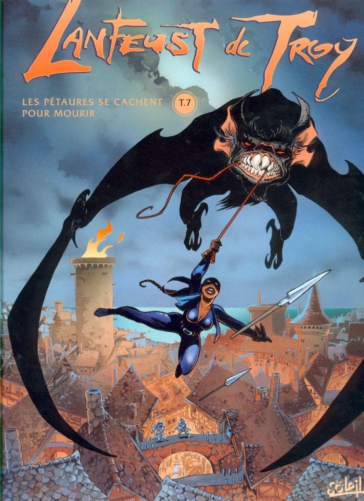Capa  LANFEUST DE TROY - 7 . PÉTAURES SE CACHENT POUR MOURIR (LES)