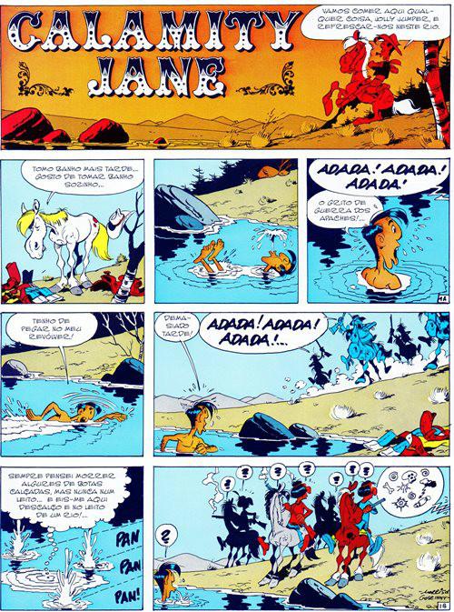 Lucky Luke Prancha 30