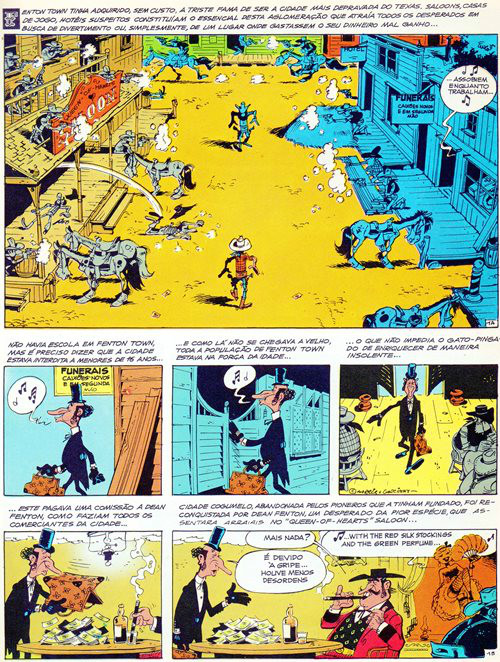 Lucky Luke Prancha 34