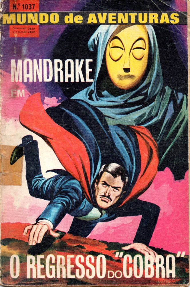 MANDRAKE - 16 . REGRESSO DO COBRA (O)