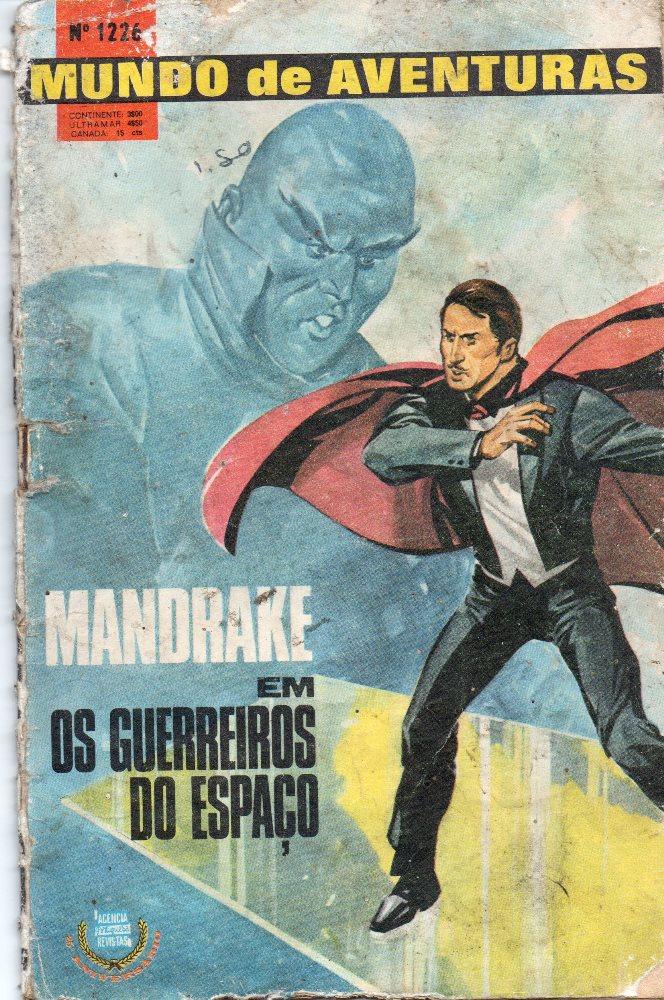 MANDRAKE - 20 . GUERREIROS DO ESPAÇO (OS)