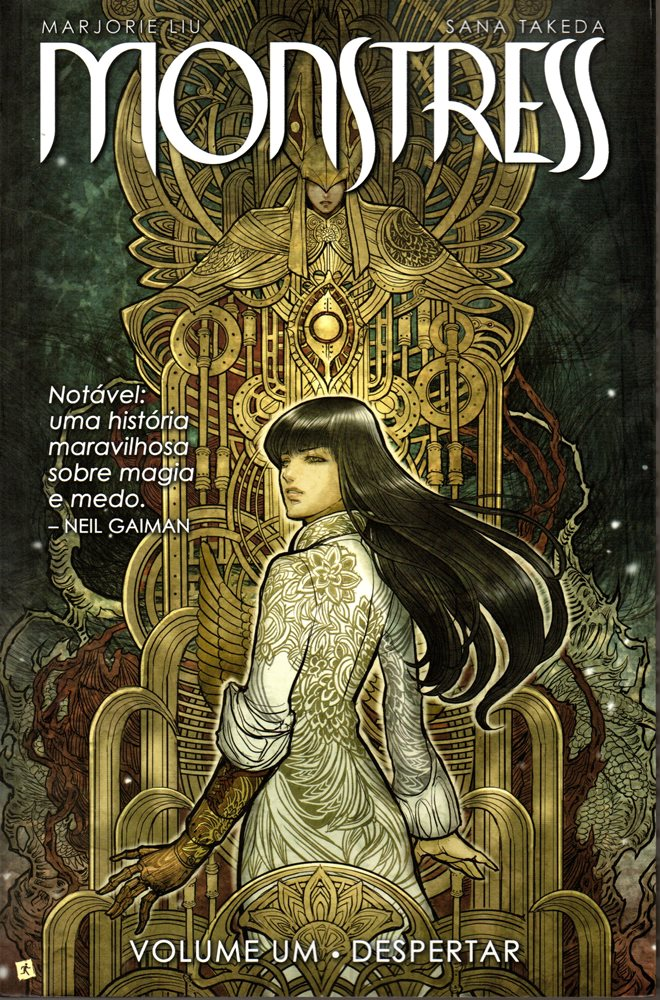 Capa de: MONSTRESS - 1 . DESPERTAR