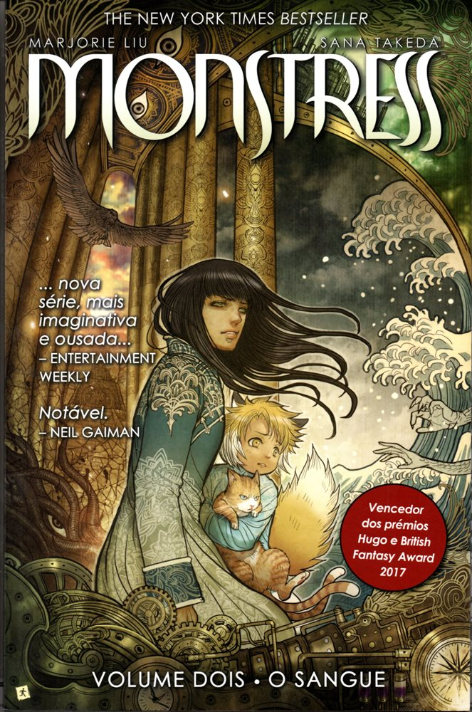 Capa de: MONSTRESS - 2 . SANGUE (O)