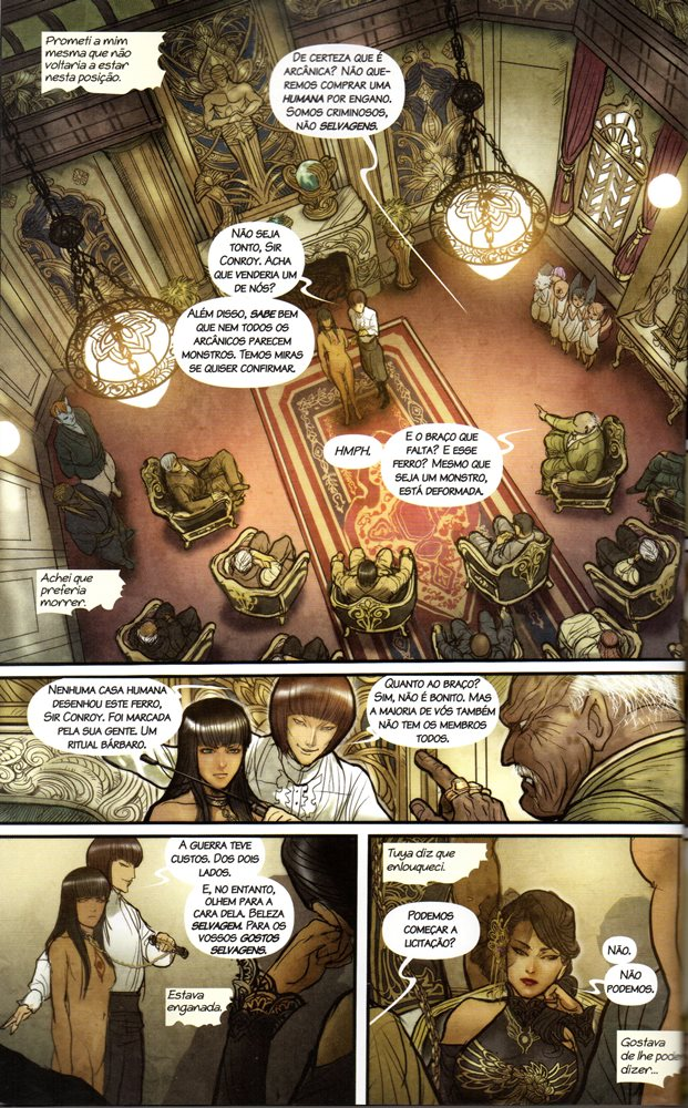 Prancha de: MONSTRESS - 1 . DESPERTAR