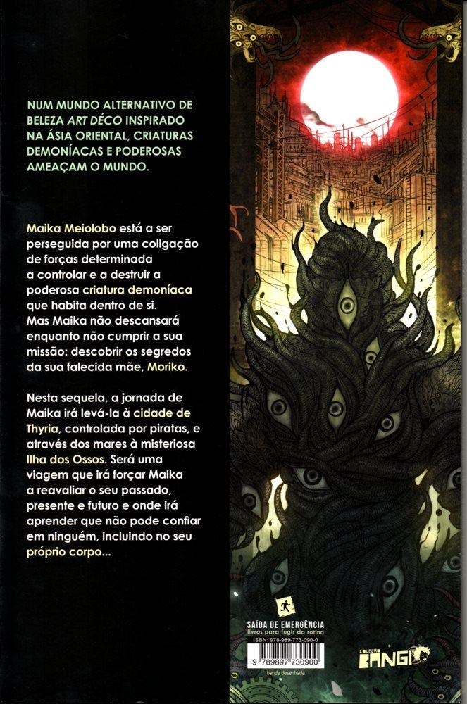 Prancha de: MONSTRESS - 2 . SANGUE (O)