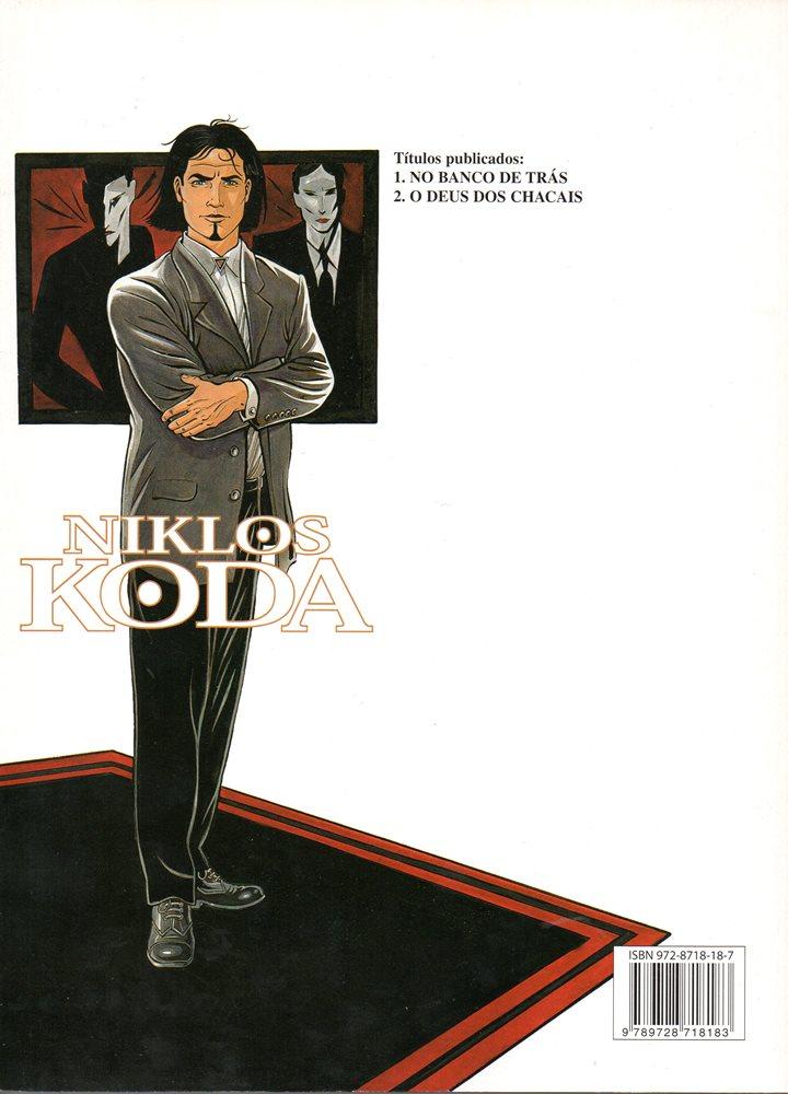 Prancha de: NIKLOS KODA - 2 . DEUS DOS CHACAIS (O)